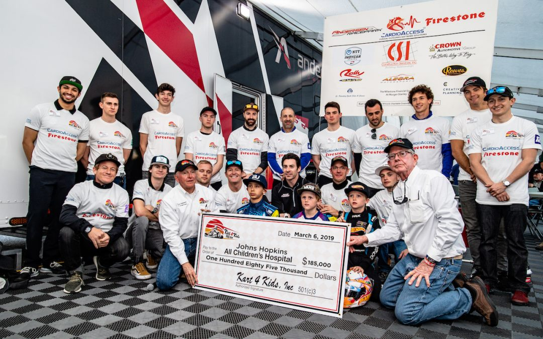 Annual Kart 4 Kids Pro-Am Race Raises $185,000