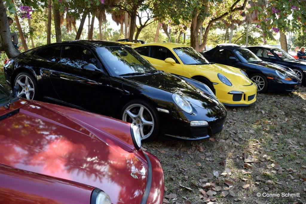 Porsches in the Park - 2016
